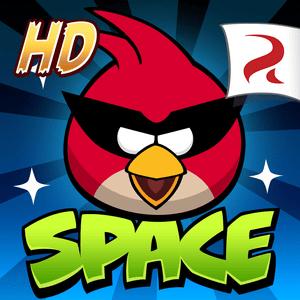 """دانلود Angry Birds Space HD 2.2.14 – بازی """"پرندگان خشمگین فضایی"""" اندروید + مود"""