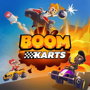 """دانلود Boom Karts Racing 1.6.2 – بازی مسابقه ای """"بوم کارتز"""" اندروید + مود"""
