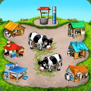 """دانلود Farm Frenzy 1.3.8 – بازی جذاب """"مزرعه شادی"""" اندروید + مود"""