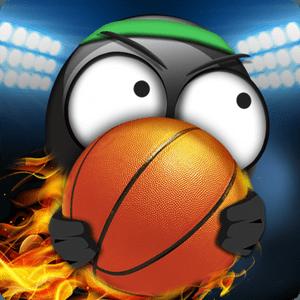 """دانلود Stickman Basketball 2.5 - بازی جذاب """"بسکتبال آدمک ها"""" اندروید + مود"""