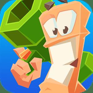 """دانلود Worms 4 1.0.432182 b44 – بازی جذاب """"جنگ کرم ها 4"""" اندروید + مود"""