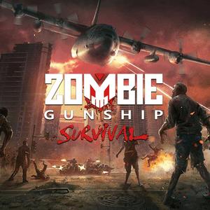 """دانلود Zombie Gunship Survival 1.6.37 – بازی """"نبرد با زامبی ها"""" اندروید + مود"""